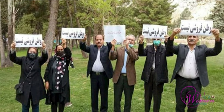 Women brutalized on 3rd day of protests against anti-Iranian contract