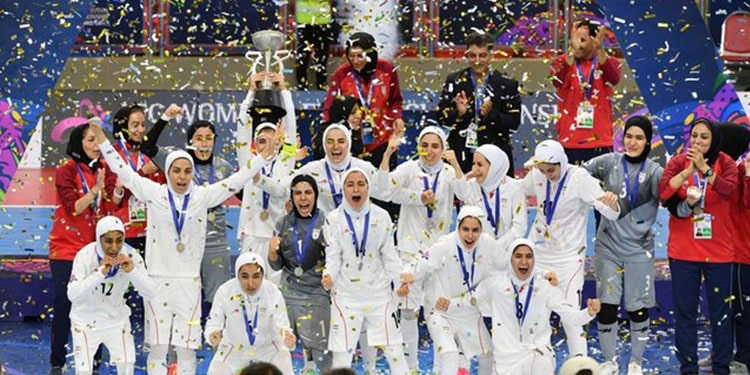 situation for the Iranian women's national futsal team