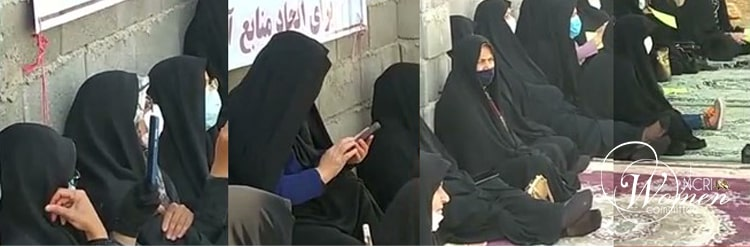 Women farmers participate in the gathering in Varjaveh, Isfahan