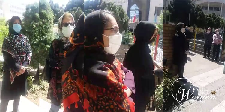 protests by Iranian pensioners