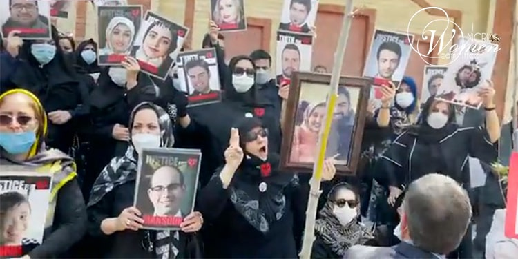 Mothers of the martyrs of November 2019 uprising among Iran protesters