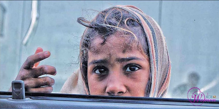 Physical harm to female child laborers