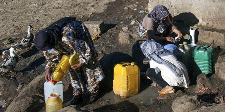 Dehydration a main reason for rural migrations and slum-dwelling