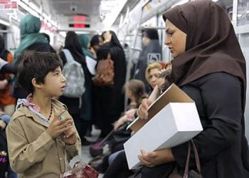 Female peddlers in Tehran's metro harassed by municipal agents