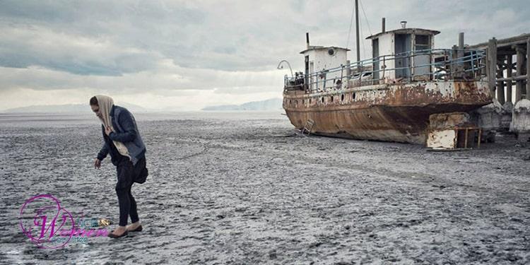 Drying up of Lake Urmia