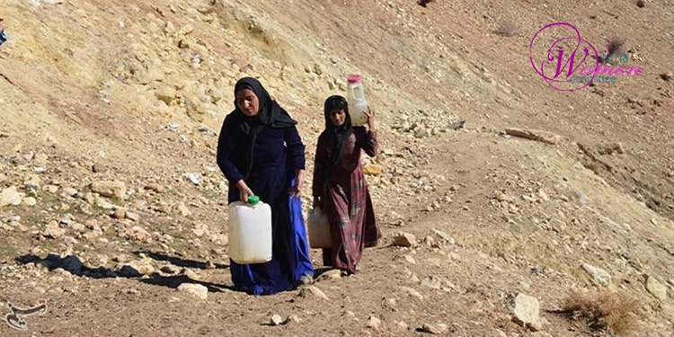 Lack of access to tap water, and its effects on women and children's health