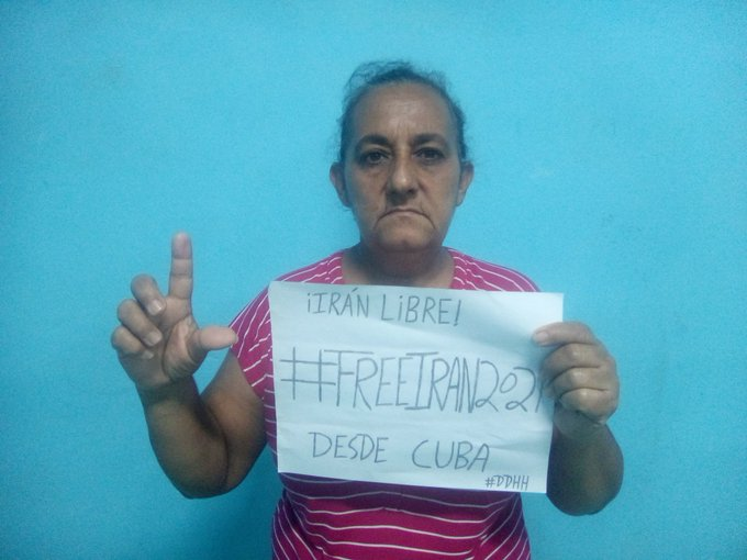 MaydolisLeyvaP from Cuba, a former political prisoner and a human rights activist