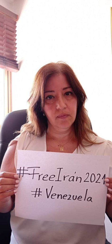 MamaLisVzla from Venezuela, a human rights activist imprisoned in 2017, a doctor and Head of the Cancer Society