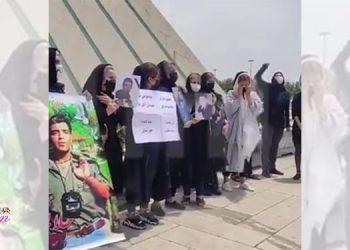 Mothers of the martyrs of November arrested, brutalized