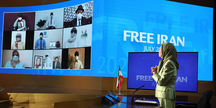 Resistance Units' calls from inside Iran - Free Iran World Summit 2021