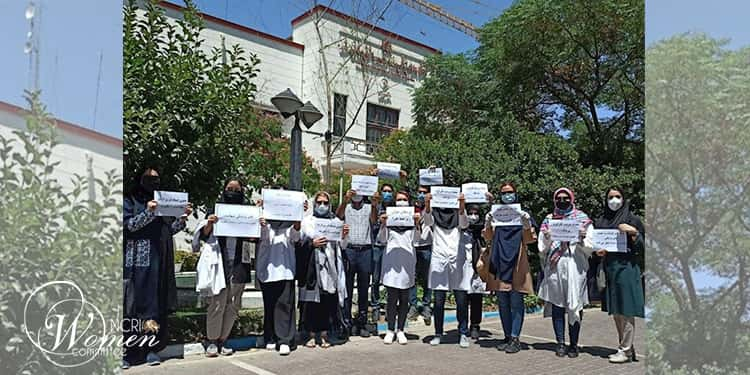 Doctors' protests in Tehran, seven other cities against woeful working conditions