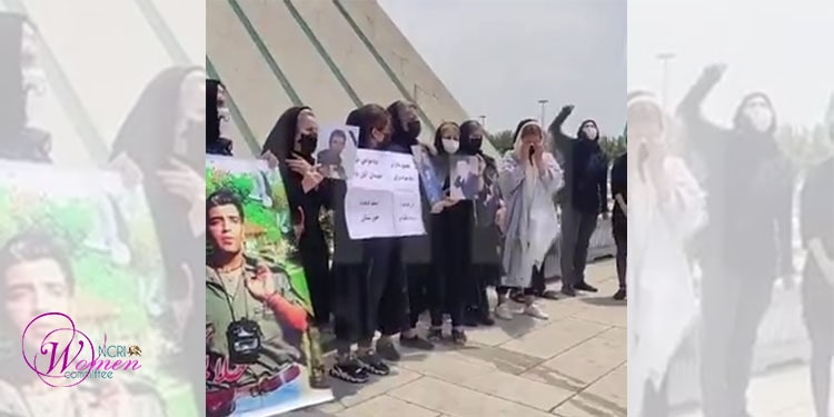 A group of mothers of the November 2019 victims marched in solidarity