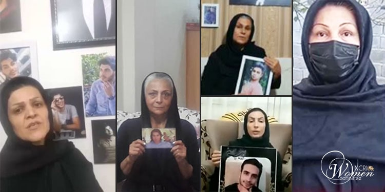 """In her message, the mother of Navid Behboudi said, """"I hail the arisen people and youths"""