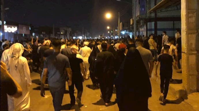 The demonstrators shook the ground under the feet of the ruling mullahs.