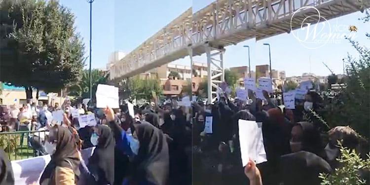 Coordinated teachers' protests in Tehran, Fars, Khuzestan and Lorestan