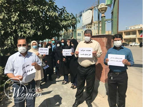 Iran teachers hold protests in 40 cities in 20 provinces
