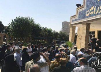Female teachers and educators held protests in Tehran, Varamin, Dezful