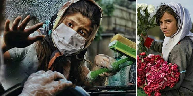 Girl children make up half of the population of child laborers